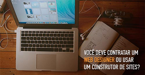 construtor de sites ou web designer