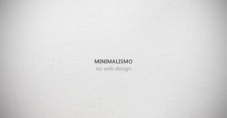 layouts minimalistas de websites inspiradores