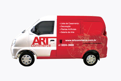 Envelopamento Frota - Art Commerce